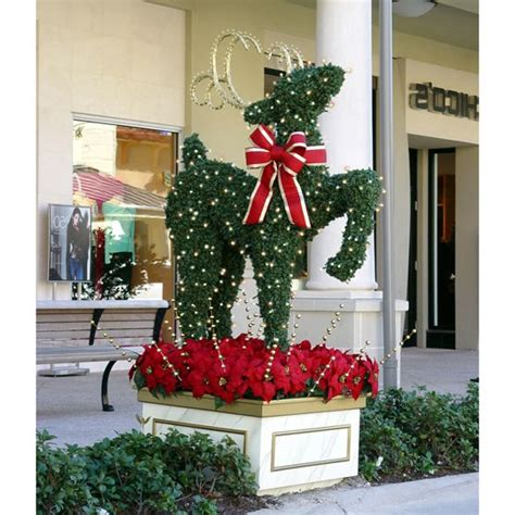 christmas decorations commercial 1000 images about topiary trees animals on studios reindeer and the o jays