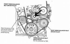 Service Manual  How Set Cam Timing Marks 1997 Honda
