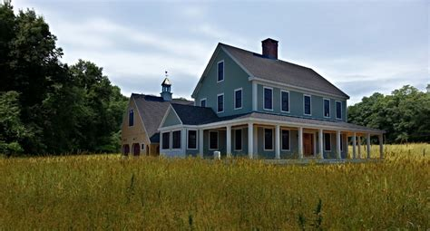 farmhouse colonial exterior trim  siding