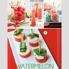 Summer Entertaining Five Crowdpleaser Watermelon Recipes