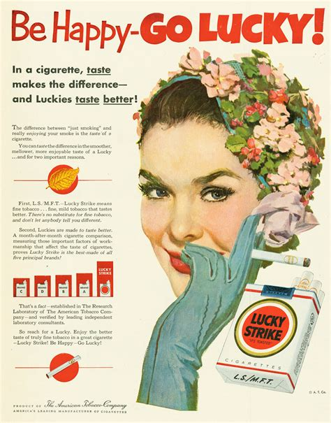 The Appeal Of Vintage Lucky Strike
