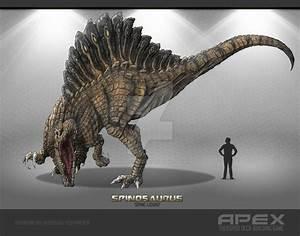 Spinosaurus by Herschel-Hoffmeyer on DeviantArt