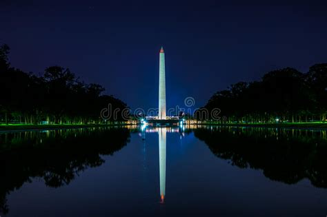 washington monument  district  columbia stock image