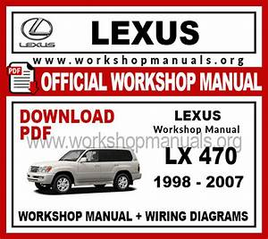 Lexus Lx 470 Workshop Repair Manual