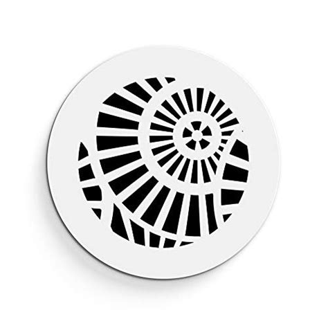 """Decorative resin air return filter grilles open with no hinges or ugly attachments. SABA Air Vent Cover Grille - Acrylic Plexiglass 6"""" Round ..."""