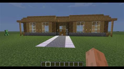 grande maison moderne minecraft minecraft tutoriel comment construire une grande maison hd