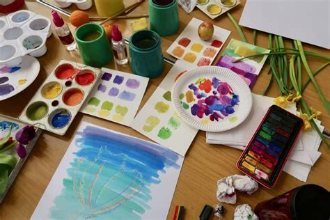 paint inspired color mixing and compositing for