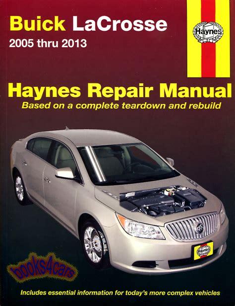 book repair manual 2010 buick lacrosse electronic throttle control buick lacrosse manuals at books4cars com