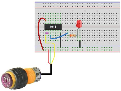 How Build Infrared Proximity Switch Circuit With