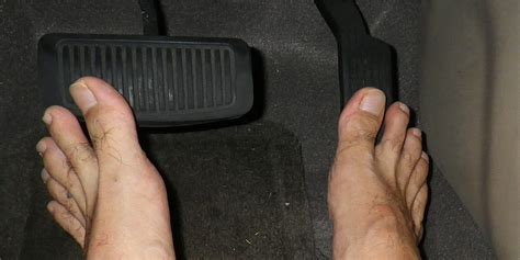 illegal  drive barefoot   state heres
