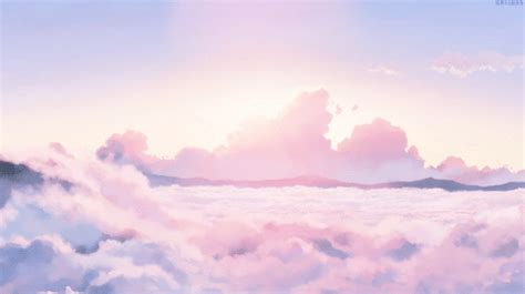 Only the best hd background pictures. Image de gif, aesthetic, and clouds | Anime background ...
