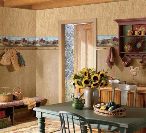 country barn wallpaper border ffrb primitive farm