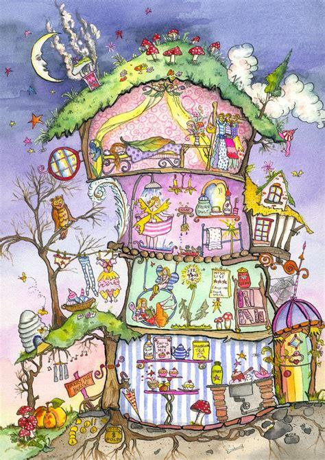 fairy house cut  poster  amanda loverseed