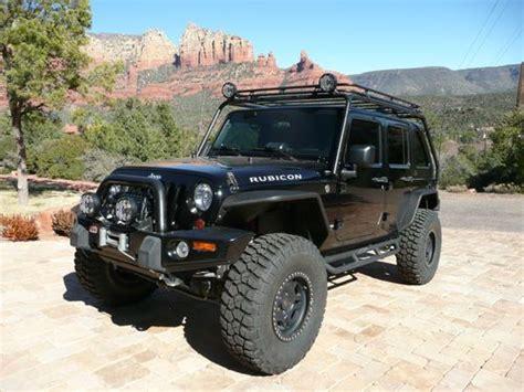 black jeep 4 door buy used 2008 jeep rubicon wrangler unlimited 4 door black