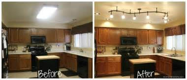lighting for kitchens ideas mini kitchen remodel new lighting makes a world of