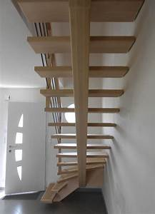 Escalier Bois Intérieur : garde corps bois escalier interieur wasuk ~ Premium-room.com Idées de Décoration
