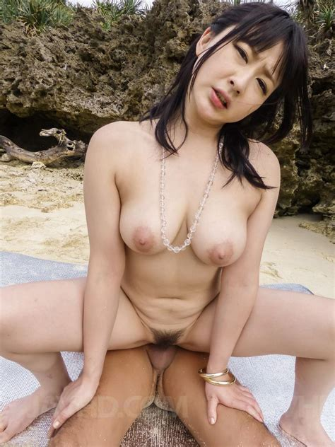 Watch Porn Video Megumi Haruka With Round Cans Is Fucked While Sucks Cock On Beach