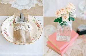 Table Mariage Champetre : mariage aux notes champ tre chic coiffures 10 and mariage ~ Melissatoandfro.com Idées de Décoration
