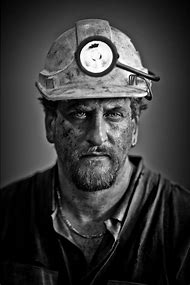 Miner Portrait Photography