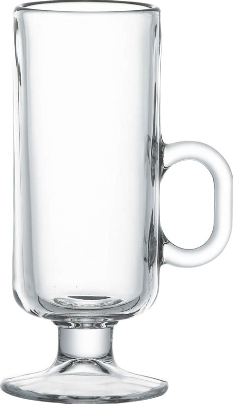 There are brown accents here just like over at pottery barn in distressed wood, but here it radiates energy. Irish Coffee Mug + Reviews | Crate and Barrel | Irish coffee, Glass coffee mugs