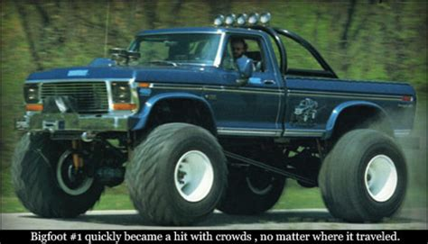 original bigfoot monster original bigfoot monster truck www pixshark com images