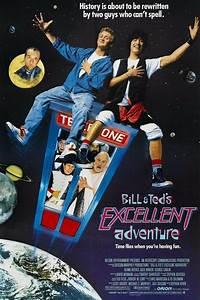 Bill & Ted's Excellent Adventure (1989) Movie Poster Cult ...