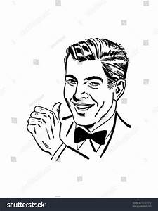 Man Thumbs Retro Clip Art Stock Vector 56383978 - Shutterstock