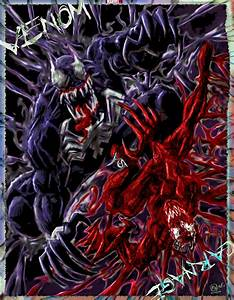 Venom vs Carnage! by MWArt on Newgrounds