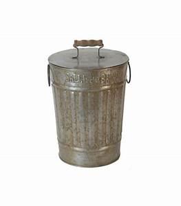 Salle De Bain En L : poubelle de salle de bain l 39 ancienne en zinc et bois ~ Melissatoandfro.com Idées de Décoration