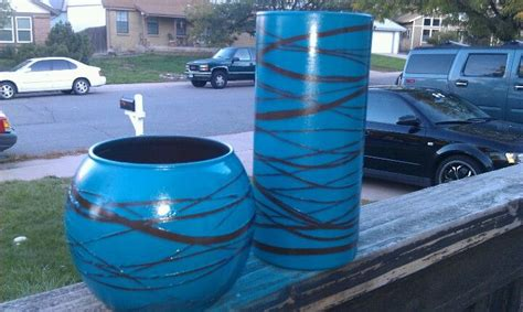 Rubber Band Candle Holders Use Glasses From Dollar Store Rubber Bands And Spray Paint To Make Beautiful Candle Holders by 1 Dollar Tree Vases Rubber Bands Spray Paint Use As