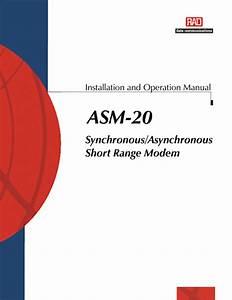 Asm-20 Manuals