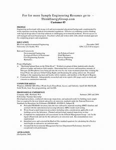 entry level civil engineer resume resume ideas With entry level mechanical engineering resume