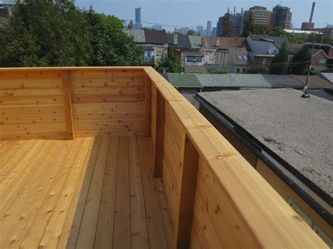 toronto roofing deck rooftop carpentry construction flat