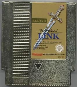 Zelda, Ii, The, Adventure, Of, Link, Gold, Nes