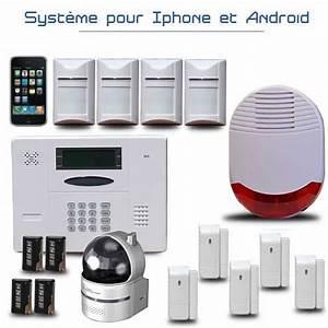 Systeme Video Surveillance Sans Fil : alarme maison sans fil pas cher ~ Edinachiropracticcenter.com Idées de Décoration