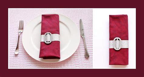 servietten falten tasche rot deko ideen