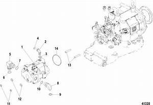Mercruiser Zeus 3000 Jh Hydraulic Pump  Primary Parts