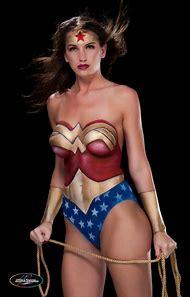 Body Paint Wonder Woman