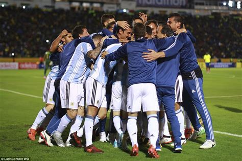 Ecuador 1-3 Argentina: Lionel Messi nets hat-trick | Daily ...