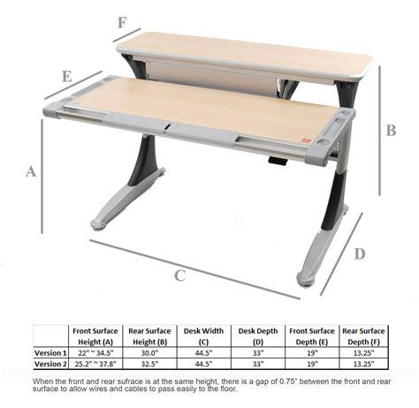 what is desk height posturedesks elite adjustable desk tilting desk height
