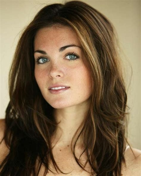 Brunette With Subtle Blonde Highlights Long Hair Styles