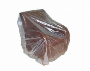 Buy heavy duty clear armchair cover for moving for Armchair covers to buy