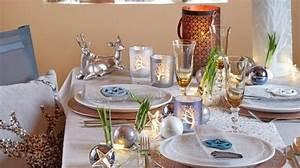Table De Fete Decoration Noel : tendance no l 2016 id es d co table et sapin cadeaux ~ Zukunftsfamilie.com Idées de Décoration