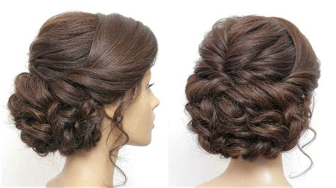 Updo Hairstyles For Hair Tutorial by Wedding Prom Updo Tutorial Formal Hairstyles For