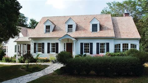 Traditional Dormer Windows by Front Door Portico Exterior Traditional With Garden