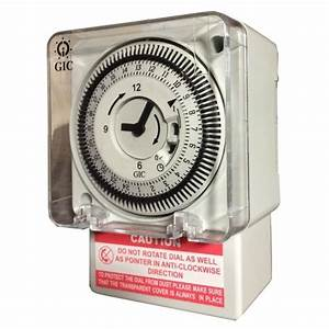 Buy Cig J648b1 Fm  1 Quartz Analog Timer Switch At Best