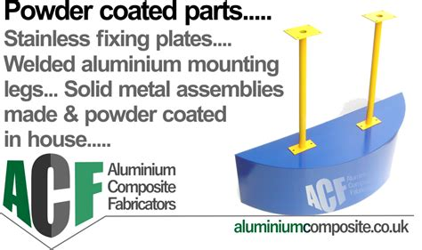 powder coated metal parts  acm projects