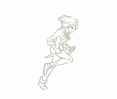 Run Jump Animation Battle Chef Slash Anime