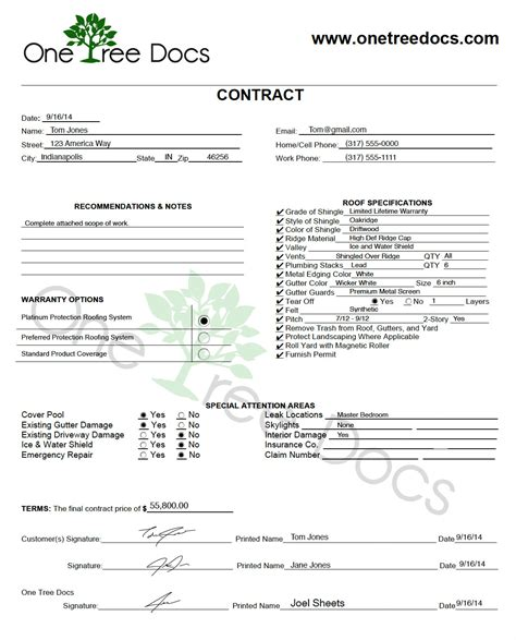 Roof Certification Template by Roof Certificate Template 5 Year Roof Certification