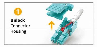Lc Uniboot Patch Fiber Connector Reverse Polarity